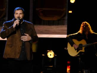 """THE VOICE -- """"Live Top 13 Performances"""" Episode 1716A -- Pictured: Jake Hoot -- (Photo by: Trae Patton/NBC)"""