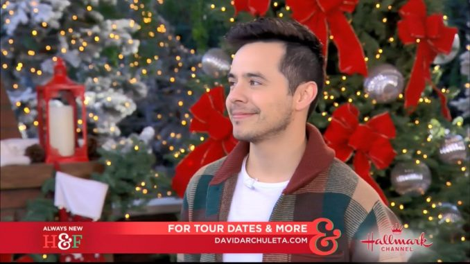 David Archuleta Merry Christmas Happy Holidays Home & Family