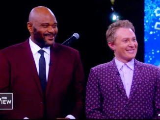 Ruben Studdard Clay Aiken Sing O Holy Night on The View