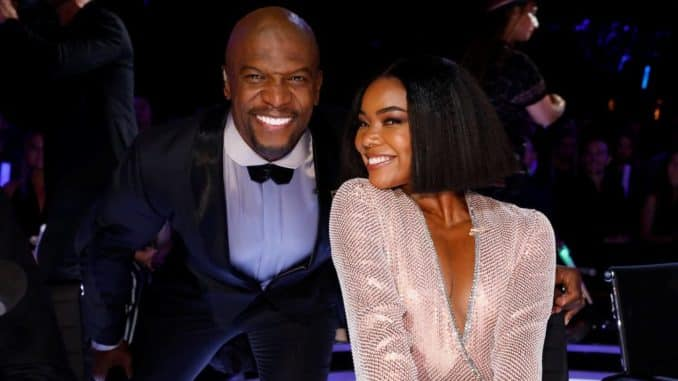 AMERICA'S GOT TALENT -- ?Live Results Finale? Episode 1423 -- Pictured: (l-r) Terry Crews, Gabrielle Union -- (Photo by: Trae Patton/NBC)
