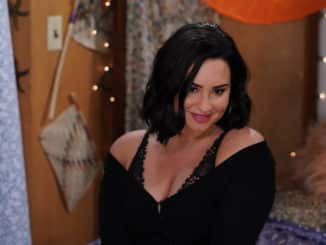 """WILL & GRACE -- """"Performance Anxiety"""" Episode 307 -- Pictured: Demi Lovato as Jenny -- (Photo by: Chris Haston/NBC)"""