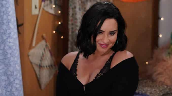 "WILL & GRACE -- ""Performance Anxiety"" Episode 307 -- Pictured: Demi Lovato as Jenny -- (Photo by: Chris Haston/NBC)"