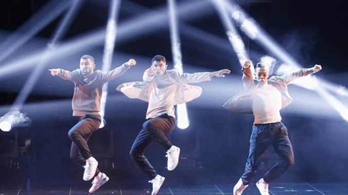 """AMERICA'S GOT TALENT: THE CHAMPIONS -- """"The Champions Three"""" Episode 203 -- Pictured: Quick Style -- (Photo by: Trae Patton/NBC)"""