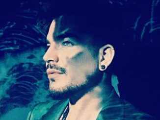 Adam Lambert Green Background