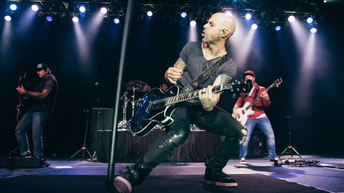 Chris Daughtry Stage Performance