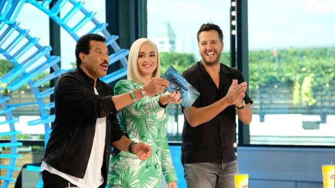 AMERICAN IDOL - LIONEL RICHIE, KATY PERRY, LUKE BRYAN