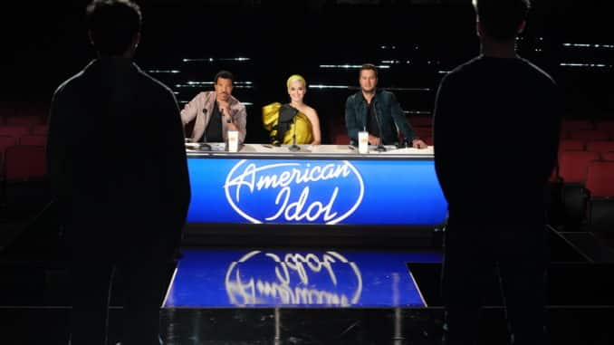 AMERICAN IDOL(ABC/Eric McCandless) LIONEL RICHIE, KATY PERRY, LUKE BRYAN