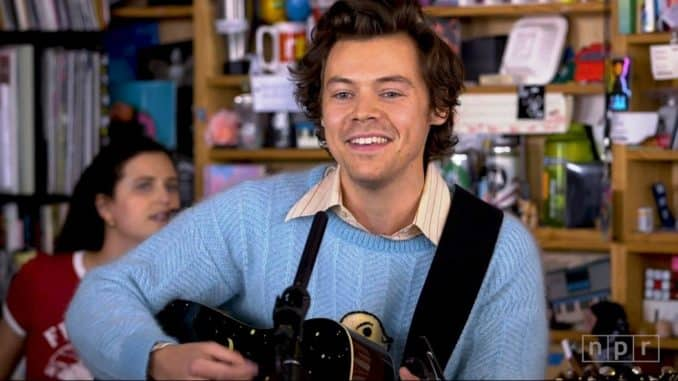 Harry Styles Tiny Desk Concert