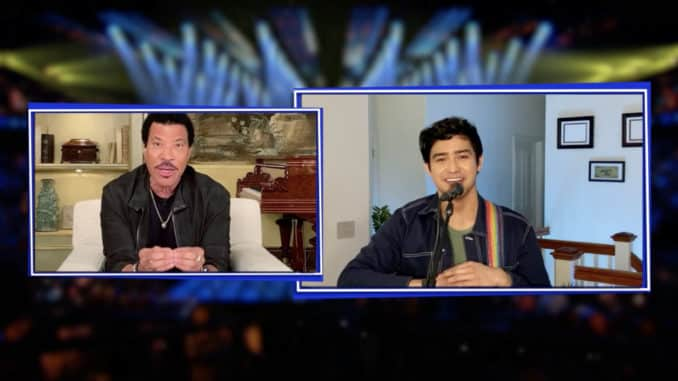 AMERICAN IDOL Top 20 At Home - (ABC) LIONEL RICHIE, FRANCISCO MARTIN