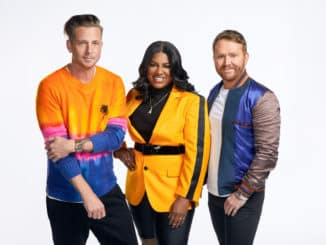 SONGLAND -- Producer Gallery -- Pictured: (l-r) Ryan Tedder, Ester Dean, Shane McAnally -- (Photo by: Trae Patton/NBC)