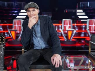 """THE VOICE -- """"Knockout Reality"""" -- Pictured: James Taylor -- (Photo by: Tyler Golden/NBC)"""
