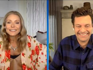 Ryan Seacrest returns to Live with Kelly & Ryan