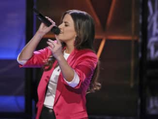 "SONGLAND -- ""Julia Michaels"" Episode 205 -- Pictured: Jenna Lotti -- (Photo by: Trae Patton/NBC)"