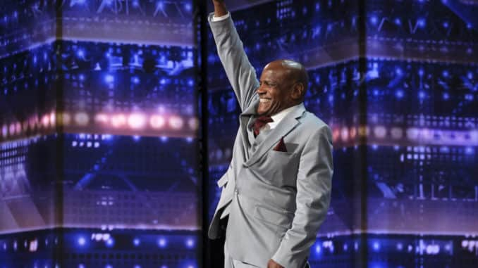 """AMERICA'S GOT TALENT -- """"Auditions 1"""" Episode 1501 -- Pictured: Archie Williams -- (Photo by: Trae Patton/NBC)"""