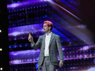 "AMERICA'S GOT TALENT -- ""Auditions"" Episode 1504 -- Pictured: Brett Loudermilk -- (Photo by: Mitchell Haddad/NBC)"