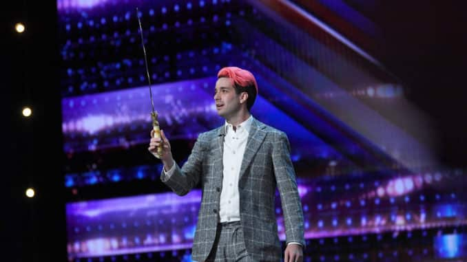 """AMERICA'S GOT TALENT -- """"Auditions"""" Episode 1504 -- Pictured: Brett Loudermilk -- (Photo by: Mitchell Haddad/NBC)"""