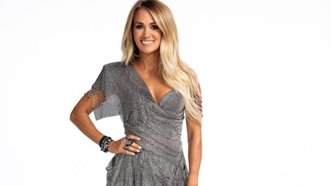 Carrie Underwood Sunday Night Football 2020l