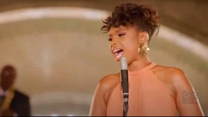 Jennifer Hudson A Change is Gonna Come Democratic National Convention