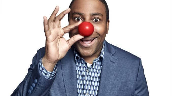 """THE RED NOSE DAY SPECIAL -- Pictured: Kenan Thompson, """"The Kenan Show"""" -- (Photo by: Maarten de Boer/NBC)"""