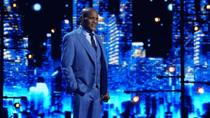 """AMERICA'S GOT TALENT -- """"Live Show 1"""" Episode 1511 -- Pictured: Archie Williams -- (Photo by: Chris Haston/NBC)"""