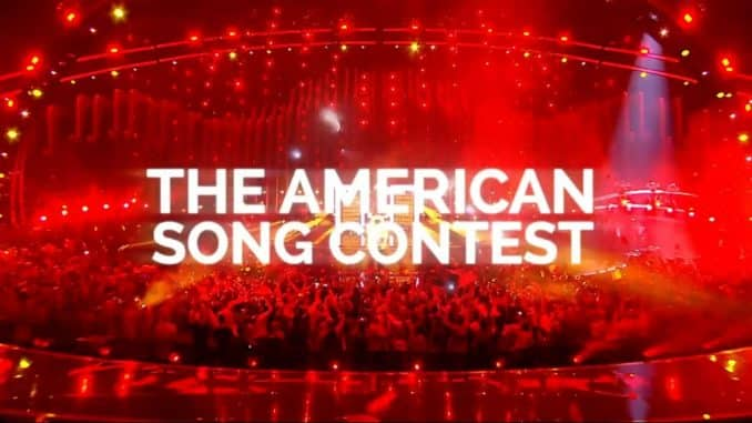 The American Song Contest Logo