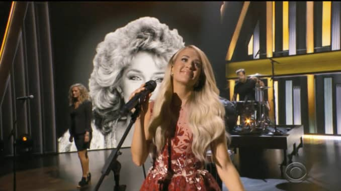 Carrie Underwood ACMS Opry Medley