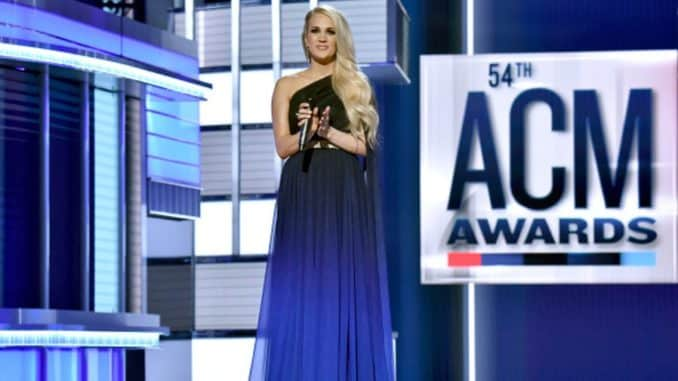 Carrie Underwood 54th ACM Awards