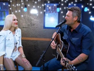 Gwen Stefani and Blake Shelton ACM Awards 2020