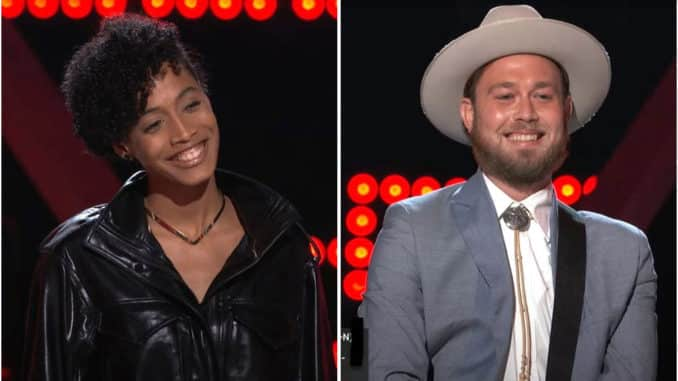 The Voice 19 Knockouts Payge Turner vs Ryan Berg