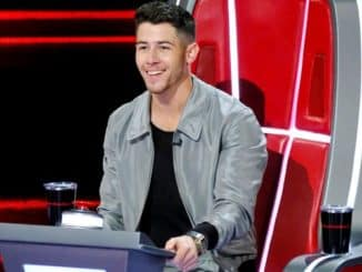 "THE VOICE -- ""Blind Auditions"" Episode 1804 -- Pictured: Nick Jonas -- (Photo by: Trae Patton/NBC)"