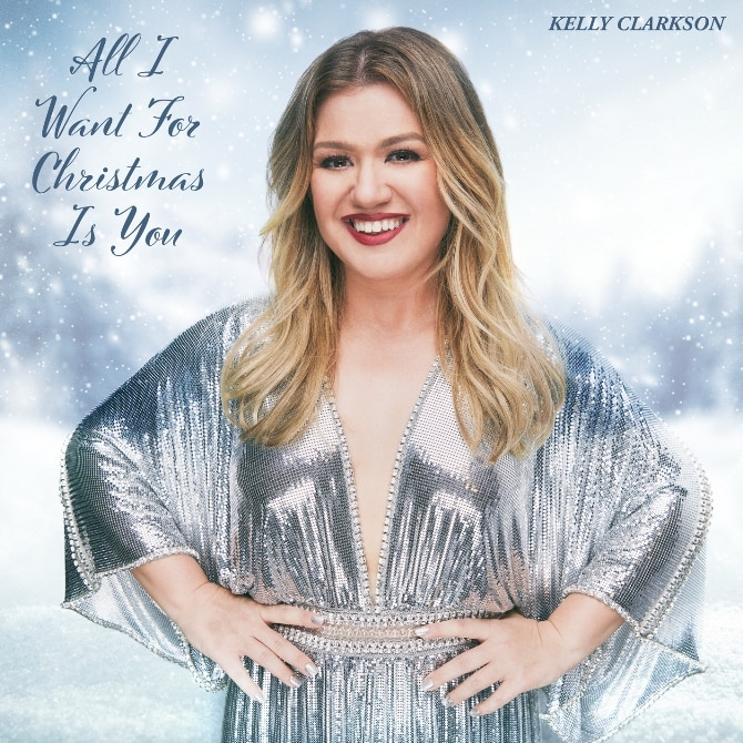 Kelly Clarkson All I Want for Christmas is You Cover