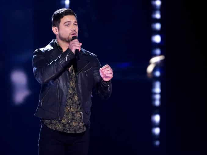 THE VOICE -- Knockout Rounds -- Pictured: Ryan Gallagher -- (Photo by: Tyler Golden/NBC)