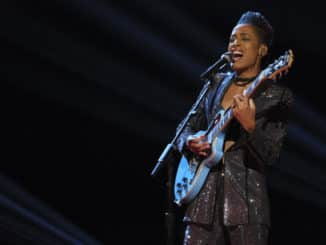 """THE VOICE -- """"Live Top 17 Performances"""" Episode 1912A -- Pictured: Payge Turner -- (Photo by: Trae Patton/NBC)"""
