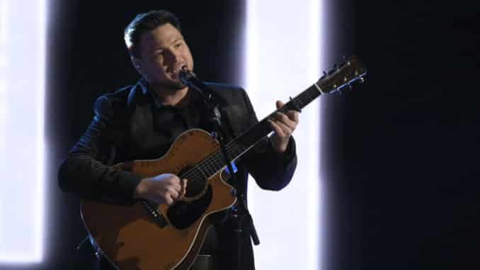 """THE VOICE -- """"Live Top 9 Performances"""" Episode 1913A -- Pictured: Ian Flanigan -- (Photo by: Trae Patton/NBC)"""
