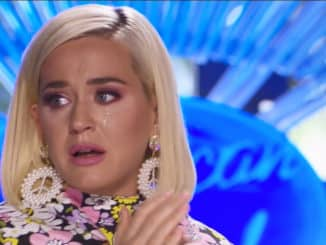 American Idol 2021 Katy Perry Crying promo