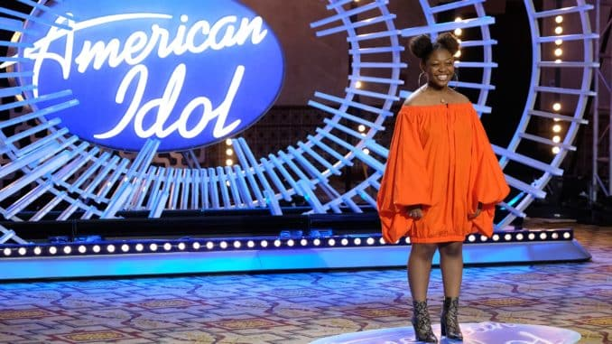 AMERICAN IDOL 401 (Auditions) - American Idol, the iconic series that revolutionized the television landscape by pioneering the music competition genre, will return to airwaves during its season premiere SUNDAY, FEB. 14 (8:00-10:00 p.m. EST), on ABC. (ABC/John Fleenor) NIA RENEE