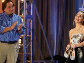 """AMERICAN IDOL Ð """"401 (Auditions)"""" - """"American Idol,"""" the iconic series that revolutionized the television landscape by pioneering the music competition genre, will return to airwaves during its season premiere SUNDAY, FEB. 14 (8:00-10:00 p.m. EST), on ABC. (ABC/Christopher Willard) GEORGE CONWAY, CLAUDIA CONWAY"""