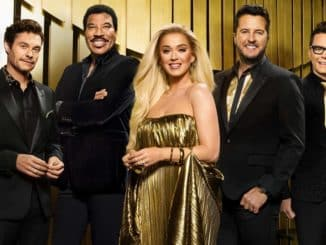 AMERICAN IDOL - ABC's American Idol stars Ryan Seacrest, Lionel Richie, Katy Perry, Luke Bryan, and Bobby Bones. (ABC/Brian Bowen Smith)