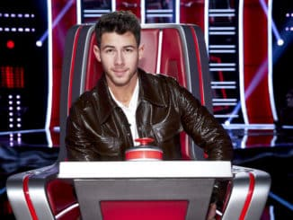 """THE VOICE -- """"Blind Auditions"""" -- Pictured: Nick Jonas -- (Photo by: Trae Patton/NBC)"""