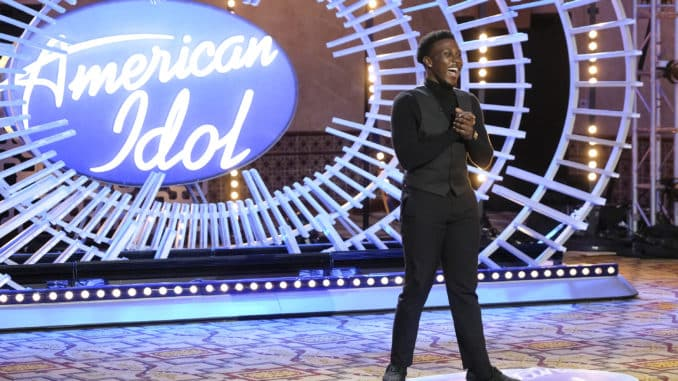 AMERICAN IDOL 405 (Auditions) The search for the next superstar across Los Angeles, California; San Diego, California; and Ojai, California, comes to an end as American Idol auditions wrap on SUNDAY, MARCH 14 (8:00-10:00 p.m. EDT), on ABC. (ABC/John Fleenor) DESHAWN GONCALVES