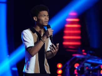 """THE VOICE -- """"Blind Auditions"""" Episode 2001 -- Pictured: Cam Anthony -- (Photo by: Tyler Golden/NBC)"""
