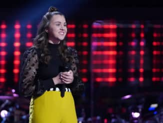 "THE VOICE -- ""Blind Auditions"" Episode 2005 -- Pictured: Anna Grace -- (Photo by: Tyler Golden/NBC)"
