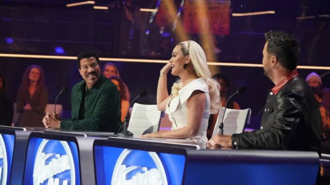 """AMERICAN IDOL – """"410 (All Star Duets and Solos)"""" – Following last week's Showstopper round, """"American Idol"""" continues with the All Star Duet and Solo round, SUNDAY, APRIL 4 (8:00-10:00 p.m. EDT), on ABC. (ABC/Eric McCandless) KATY PERRY"""