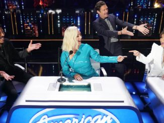 "AMERICAN IDOL - ""413 (Top 12 Live Reveal)"" Ð ""American Idol"" gets closer to crowning a winner as it continues on MONDAY, APRIL 12 (8:00-10:00 p.m. EDT), on ABC. Following AmericaÕs overnight vote, 10 contestants will be revealed from the Top 16, leaving six contestants to perform for a chance at one of two spots picked by the judges, rounding out the Top 12. (ABC/Eric McCandless) LIONEL RICHIE, KATY PERRY, RYAN SEACREST, PAULA ABDUL"