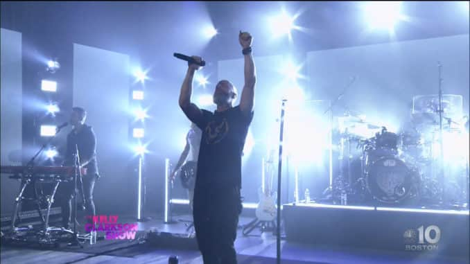 Chris Daughtry performs Heavy is the Crown on The Kelly Clarkson Show