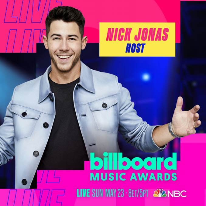 Nick Jonas 2021 Billboard Music Awards