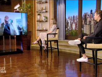 Willie Spence on Live with Kelly & Ryan