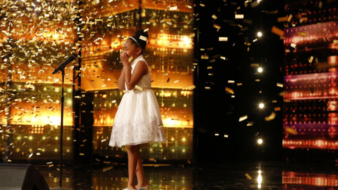 AMERICA'S GOT TALENT -- Episode 1606 -- Pictured: Victory Brinker -- (Photo by: Trae Patton/NBC)