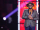 THE VOICE -- Knockout Rounds -- Pictured: John Holiday -- (Photo by: Tyler Golden/NBC)