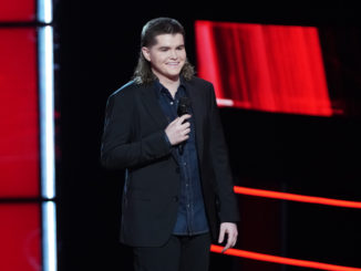 """THE VOICE -- """"Knockout Rounds"""" Episode 2011 -- Pictured: Kenzie Wheeler -- (Photo by: Tyler Golden/NBC)"""
